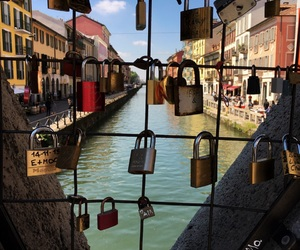 beautiful, canal, and italy image