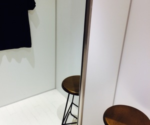 chair, shopping, and clothes image