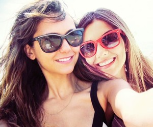 Nina Dobrev, victoria justice, and the vampire diaries image