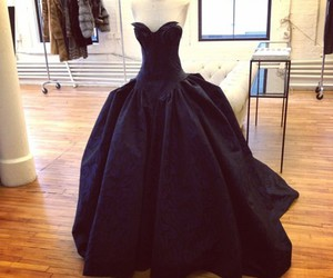 back, Couture, and dress image