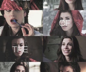 little red hood, once upon a time, and werewolf image