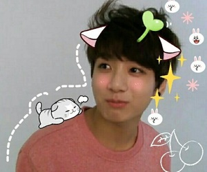 bts, cute, and jungkook image