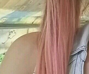 hair, mine, and myhair image