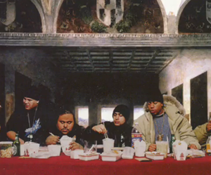 hip hop, the other side, and jesus' last supper image