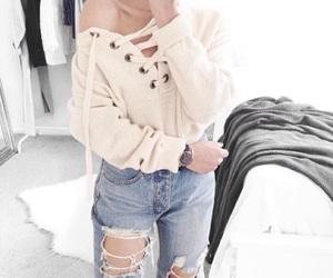 girl, fashion, and braid image