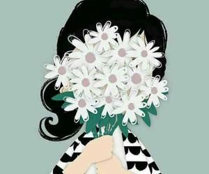 flower, ﻛﻴﻮﺕ, and رمزيات بنات image