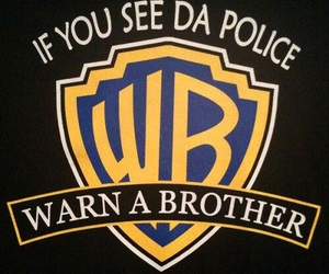 police, funny, and brother image
