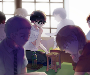 anime, art, and 3 gatsu no lion image