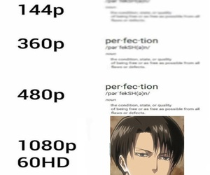 anime, funny, and levi image