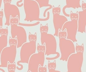 cat, illustration, and wallpaper image