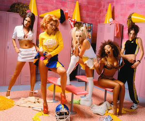 spice girls, 90s, and victoria beckham image