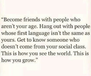 life, friends, and quote image