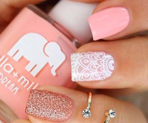 beauty, makeup, and nail art image