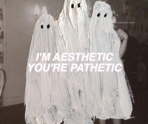 aesthetic, ghost, and ghosts image