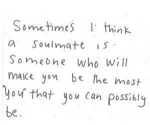 quotes and soulmate image
