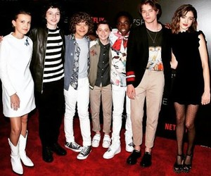 stranger things, charlie heaton, and finn wolfhard image