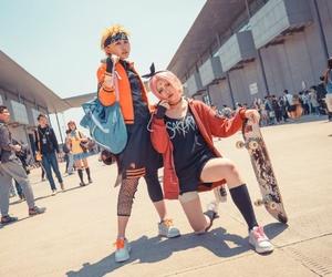 cosplay, naruto uzumaki, and naruto cosplay image