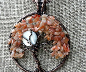 sunstone necklace, healing jewelry, and symbolic jewelry image