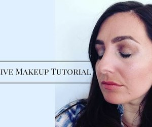 Foundation, makeup tutorial, and highlighting image
