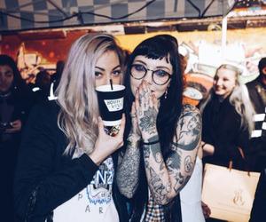 tatoo, girls, and mulheres image