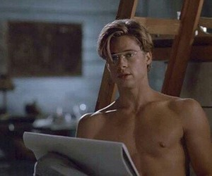 actor, brad pitt, and aesthetic image