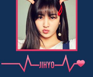 twice, jihyo, and kpop wallpaper image