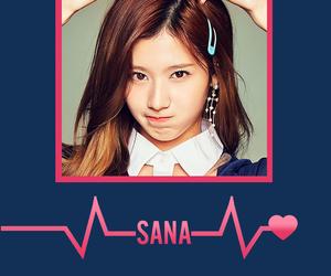 twice, sana, and kpop wallpaper image