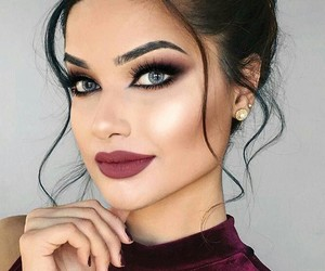 girls, hairstyle, and makeup image