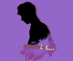 purple, troye sivan, and edits image