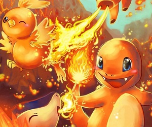 pokemon, fire, and torchic image