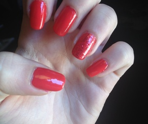 nail art, red, and rosso image