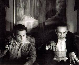 ed wood, tim burton, and johnny depp image
