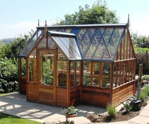 beautiful, conservatory, and garden image