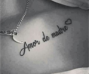 amor, frases, and tatuajes image