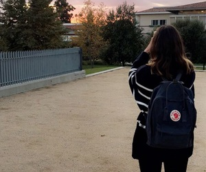 backpack, beautiful, and college image
