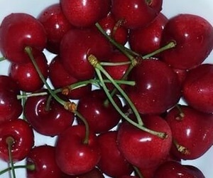 cherry, red, and food image