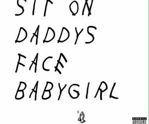 daddy, babygirl, and submissive image