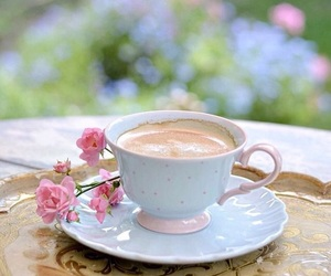 flowers, tea, and tuesday image