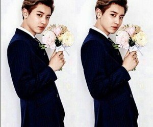 exo, exok, and flowers image