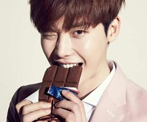 lee jong suk, lee jongsuk, and chocolate image