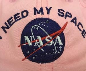 nasa, pink, and space image