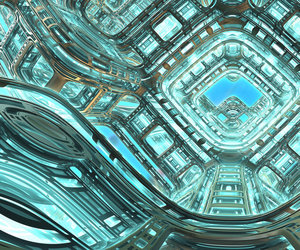 3d, abstract, and blue image