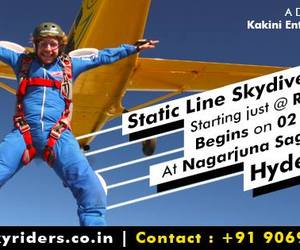 skydiving, tandem jump, and skydiving in india image