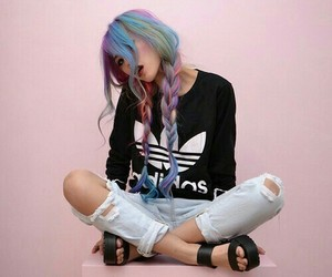 adidas, fashion, and colors image