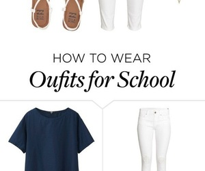 outfit, preppy, and spring image