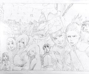 anime, anime girl, and drawing image
