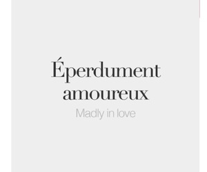french, madly in love, and love image