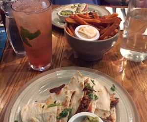 healthy, lunch, and mexican food image