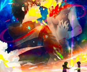 anime, yourname, and taki image