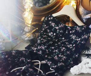dress, glitter, and milkcocoa image